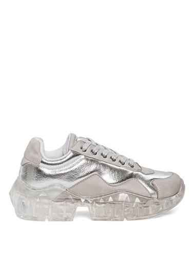 Sole Sisters Sneakers Gümüş